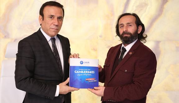 Başkan Osman Genç; Cami sadece namaz kılınan yer değildir