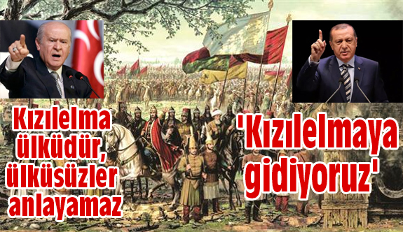 Devlet Bahçeli; Kızılelma ülküdür, ülküsüzler anlayamaz!