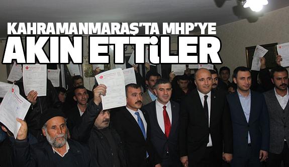 Dulkadiroğlu'nda MHP'ye Müthiş Katılım