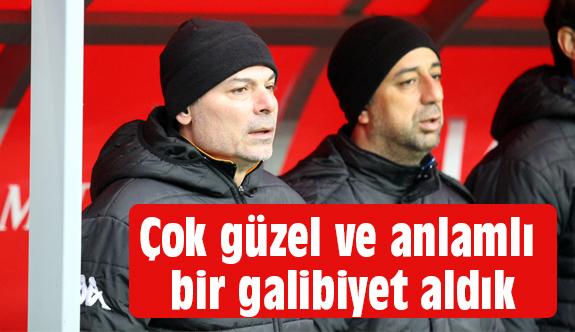 Engin İpekoğlu: Çok önemli bir galibiyet aldık