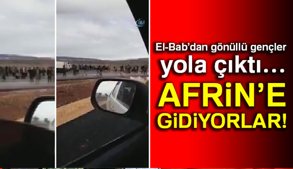 Kritik Gelişme; Gönüllüler Afrin'e Gidiyor...