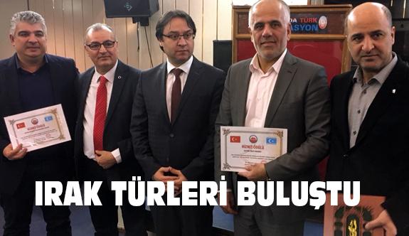 Hollanda da Irak Türkleri Buluşması