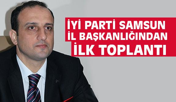 İYİ Parti Samsun Teşkilatı Toplanıyor