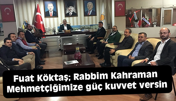 Milletvekili Köktaş, Adana'da İlçe Temayül Yoklamalarını Gerçekleştirdi
