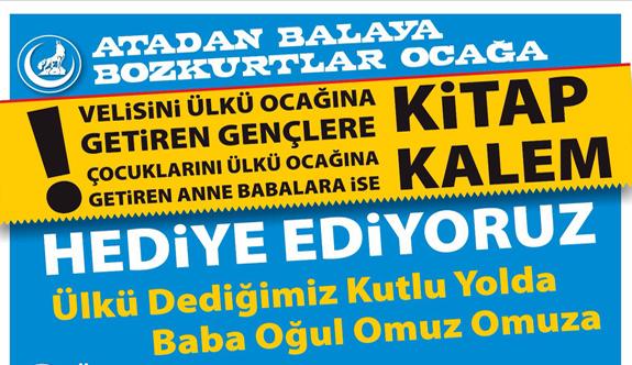 """Nevşehir Ülkü Ocağı: """"Atadan Balaya Bozkurtlar Ocağa"""""""