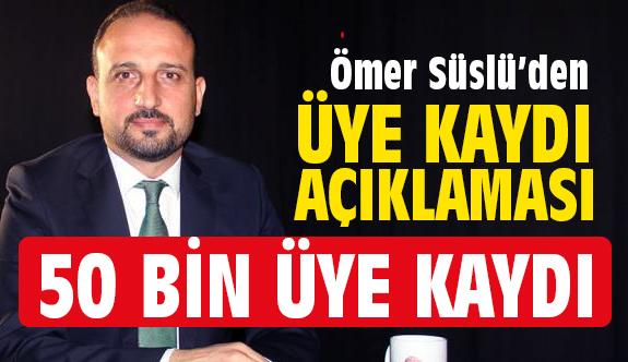 Samsun İYİ Parti'ye 50 Bin Üye...