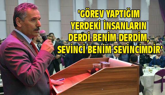 Samsun Valisi Osman Kaymak;  Samsunspor Samsun'un ortak paydalarından biridir