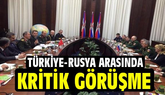 Türkiye-Rusya arasında Bölgesel Güvenlik Konuları Görüşüldü