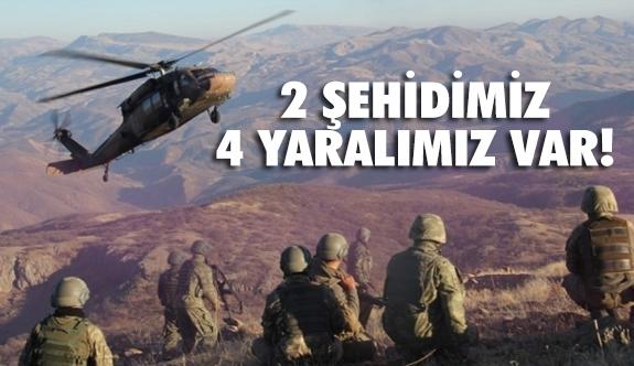 Afrin Operasyonunda 2 şehit, 4 askerimiz yaralandı