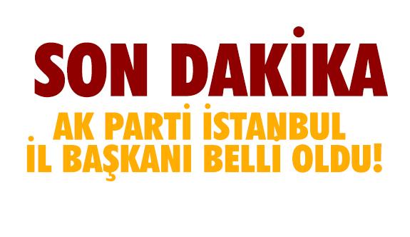 AK Parti İstanbul İl Başkana Bayram Şenocak oldu