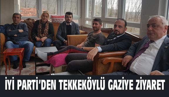 Başkan Süslü, Afrin Gazisi Bolat'ı ziyaret etti