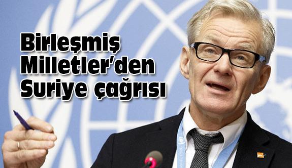 Birleşmiş Milletler, Rusya, İran ve Türkiye'ye Çağrıda Bulundu