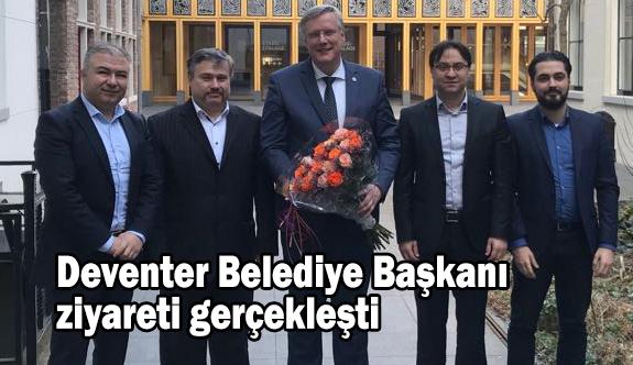 Deventer Belediye Başkanı ziyareti gerçekleşti