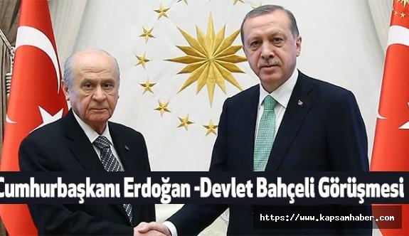 Erdoğan - Bahçeli görüşmesi Heyecan Yarattı