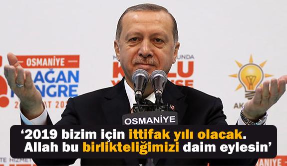 Erdoğan, Bahçeli'nin Memleketinde Konuştu: 2019 İttifak Yılı Olacak