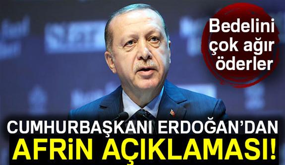 Erdoğan, Bedelini Ağır Öderler