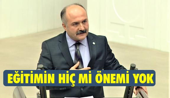 Erhan Usta, Eğitimin hiç mi önemi yok?