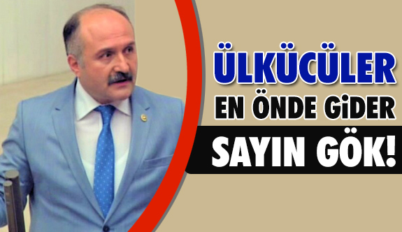 Erhan Usta; Ülkücüler Afrin'e En Önde Gider Sayın Gök!
