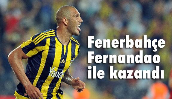 Fenerbahçe Fernandao İle Kazandı