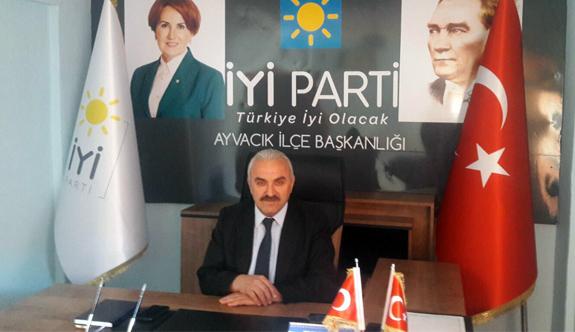 İYİ Parti Ayvacık'ta 10 Şubat'ta Kongresini yapıyor