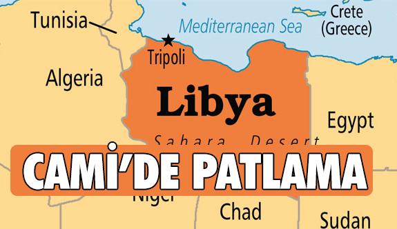 Libya Bingazi'de Camide Patlama!