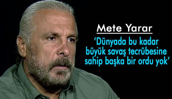 Mete Yarar, Asıl Korku Türkiye'nin Uyanması!