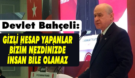 MHP Lideri Devlet Bahçeli Antalya'da Çok Ağır Konuştu (10 Şubat 2018)