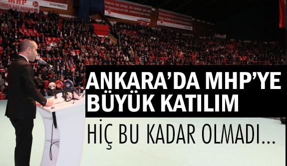 MHP'ye Ankara'da Çok Büyük Katılım: Bu Kadarı Hiç Olmadı...
