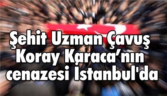 Şehit Uzman Çavuş Koray Karaca'nın cenazesi İstanbul'da