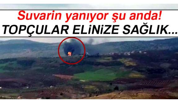 Türk Topçu Birlikleri Sınır Tanımıyor