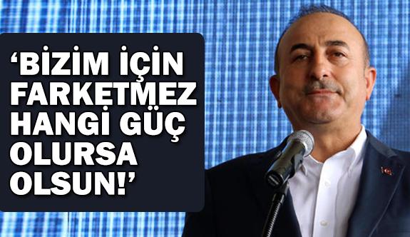 """""""YPG/PKK'yı korumak için gelmek isteyenlere fırsat vermeyiz"""""""