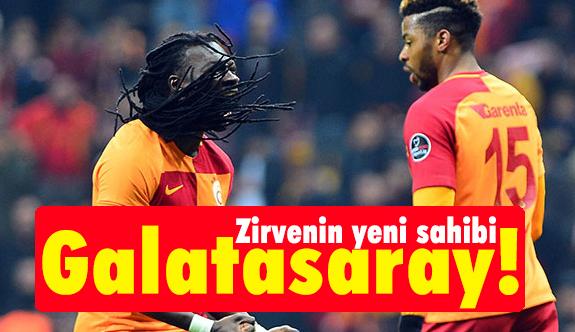 Zirvenin sahibi Galatasaray! (Maçtan Dakikalar)