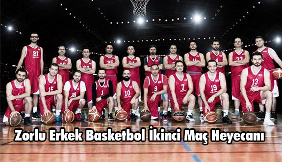 Zorlu Erkek Basketbol İkinci Maç Heyecanı