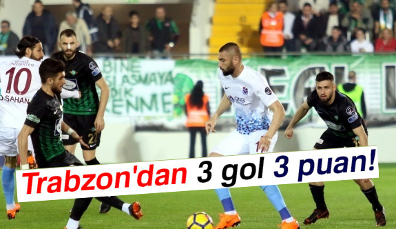 Akhisarspor 1-3 Trabzonspor Maç Özeti ve Golleri...