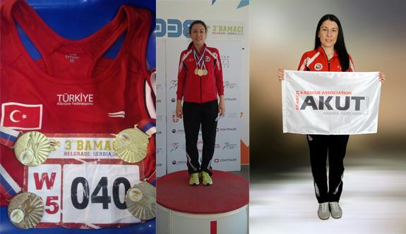 AKUT Sporcusundan Balkan Şampiyonası'nda 2 altın, 2 gümüş madalya
