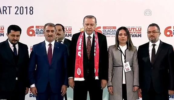 Antalya 6. Olağan İl Kongresi Cumhurbaşkanı Erdoğan'ın Katılımıyla Gerçekleşti