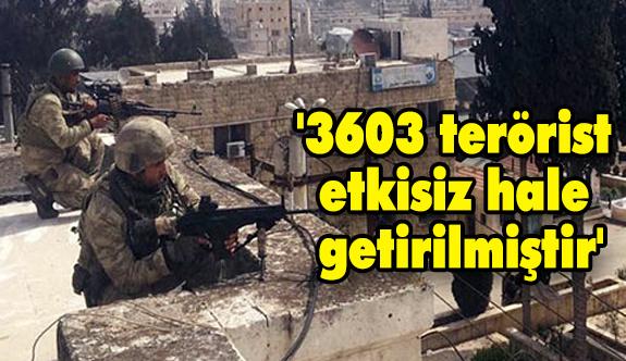 Bugün İtibariyle Kaç Terörist Öldürüldü?