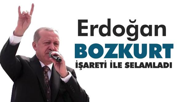Cumhurbaşkanı Erdoğan'dan Bir İlk! Bozkurt İşareti...
