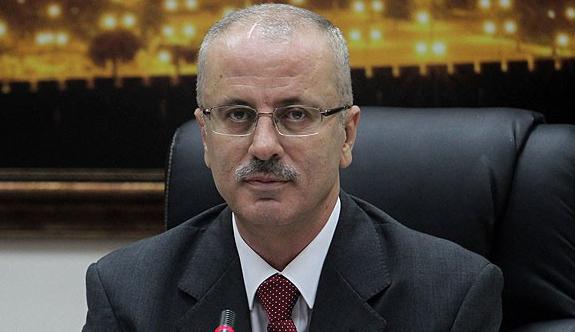Filistin Başbakanı Rahmi Hamdallah'ın konvoyuna saldırı