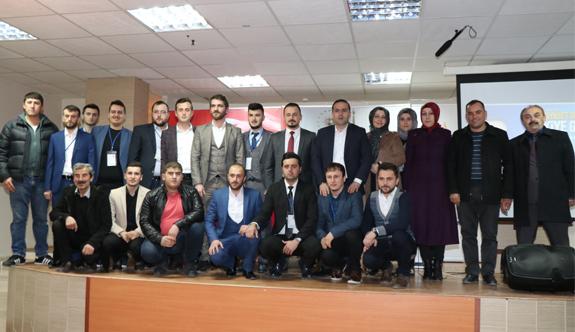 Kavak'ta AK Parti Gençlik Kolları 5. Olağan Kongresi yapıldı