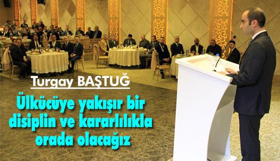 MHP Ankara İl Başkanı Baştuğ, Üst Kurul Delegeleriyle Bir Araya Geldi