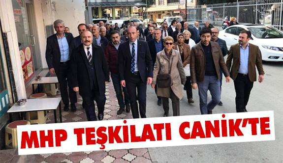 MHP Canikli Vatandaşları Dinledi