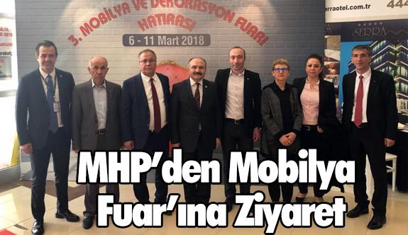 MHP'den Mobilya Fuar'ına Ziyaret