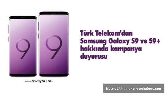 Türk Telekom'dan Samsung Galaxy S9 ve S9+ Kampanyası