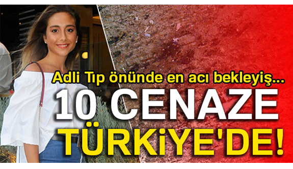 Uçak Kazasında hayatını kaybedenler İstanbul'da