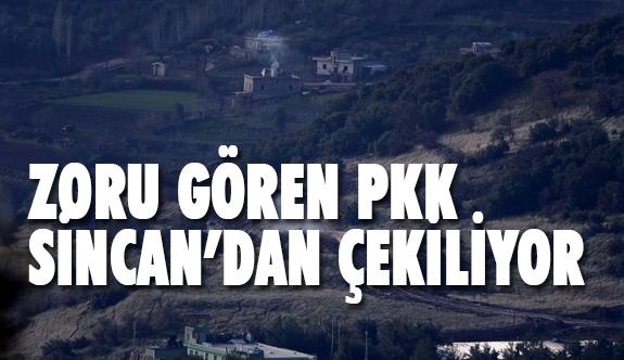 Zoru Gören PKK Sincan'dan Çekiliyor