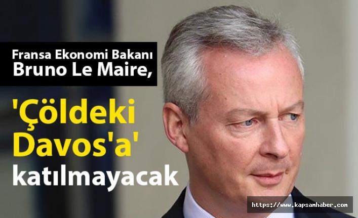 Fransız Bakan Le Maire O Toplantıya Katılmayacak