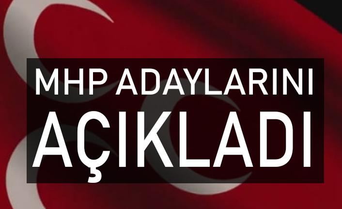 MHP Yerel Seçim Belediye Başkan Adaylarını Yayınladı