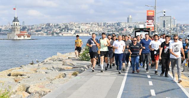 İstanbul'un En Keyifli Koşusu Üsküdar'da