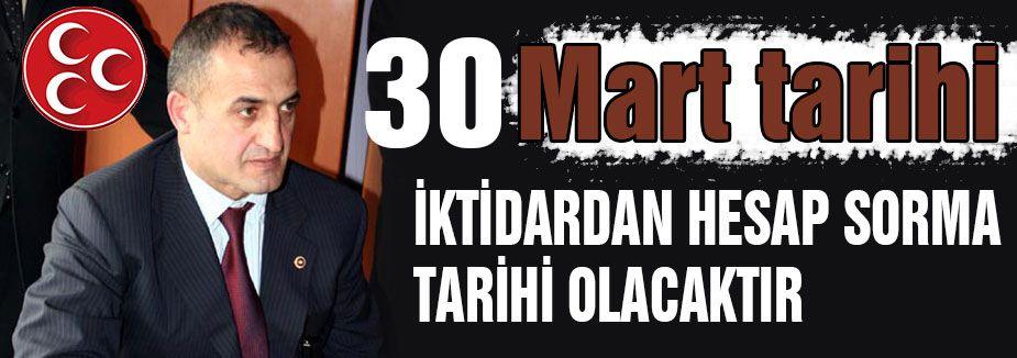 30 Mart Hesap Sorma Tarihidir